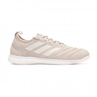 Sapatilha  adidas Copa Tango 19+ TR Off White-White-Solar Red