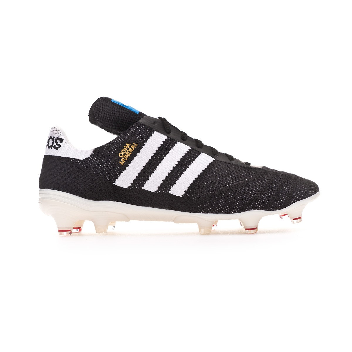 new product 2ee22 5fcee Chaussure de foot adidas Copa 70Y FG Core Black-White-Red - Boutique de  football Fútbol Emotion