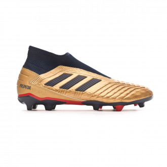 Bota  adidas Predator 19.3 Laceless FG ZZ Gold metallic-Core Black
