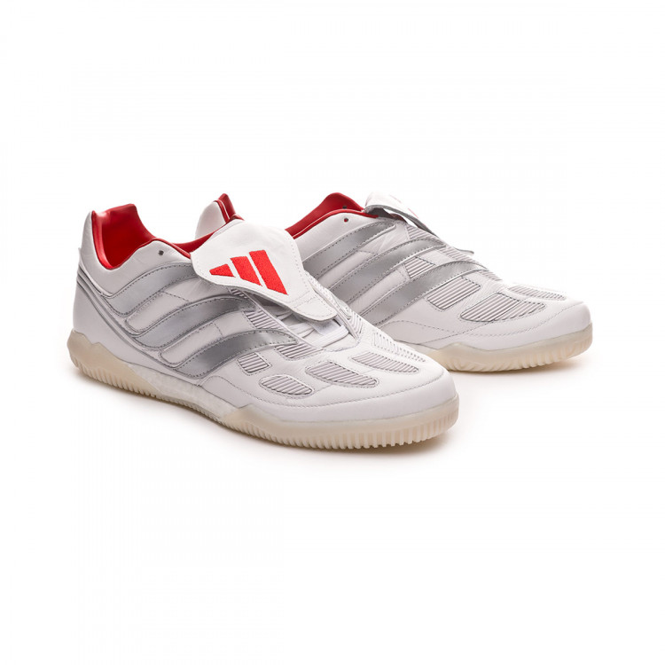 c778994025cad6 Futsal Boot adidas Predator Precision TR DB White-Silver metallic ...