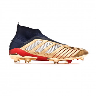 Football Boots  adidas Predator 19+ FG ZZ Gold metallic-Core Black