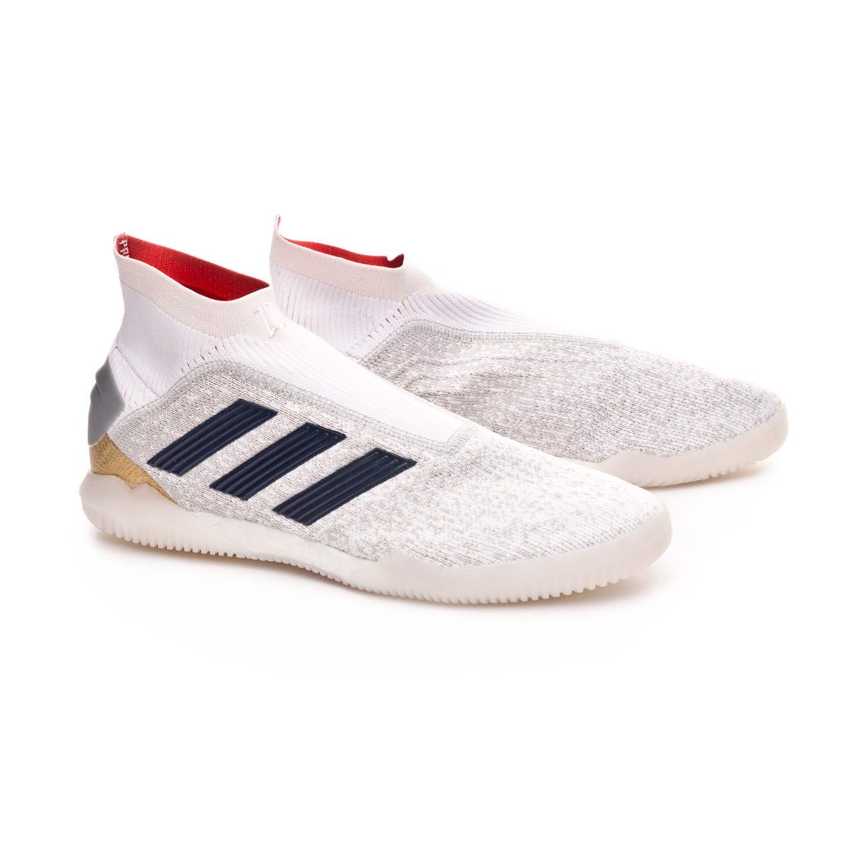 b435a45ba88b8 Tenis adidas Predator Tango 19+ TR DB White-Silver metallic-Predator Red -  Tienda de fútbol Fútbol Emotion