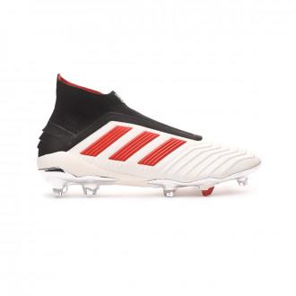 Bota adidas Predator 19+ FG Paul Pogba White-Red-Core Black