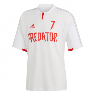 Maillot  adidas Predator DB White-red