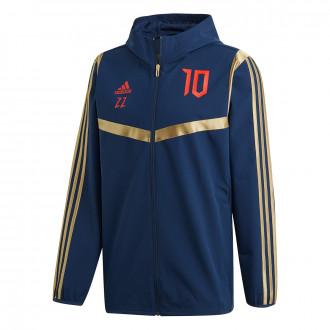 Jacket adidas Predator ZZ Hoodie Collegiate Navy-Red