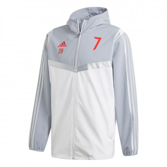 Jacket adidas Predator DB Hoddie White-red