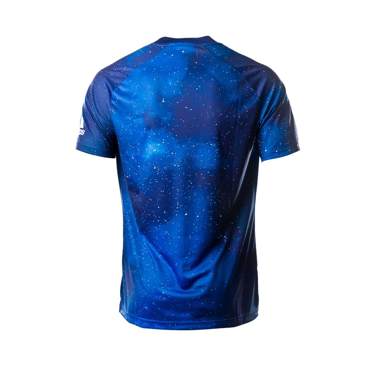 63e58c7ce9d8b Camiseta adidas Real Madrid EA 2018-2019 Azul - Tienda de fútbol Fútbol  Emotion