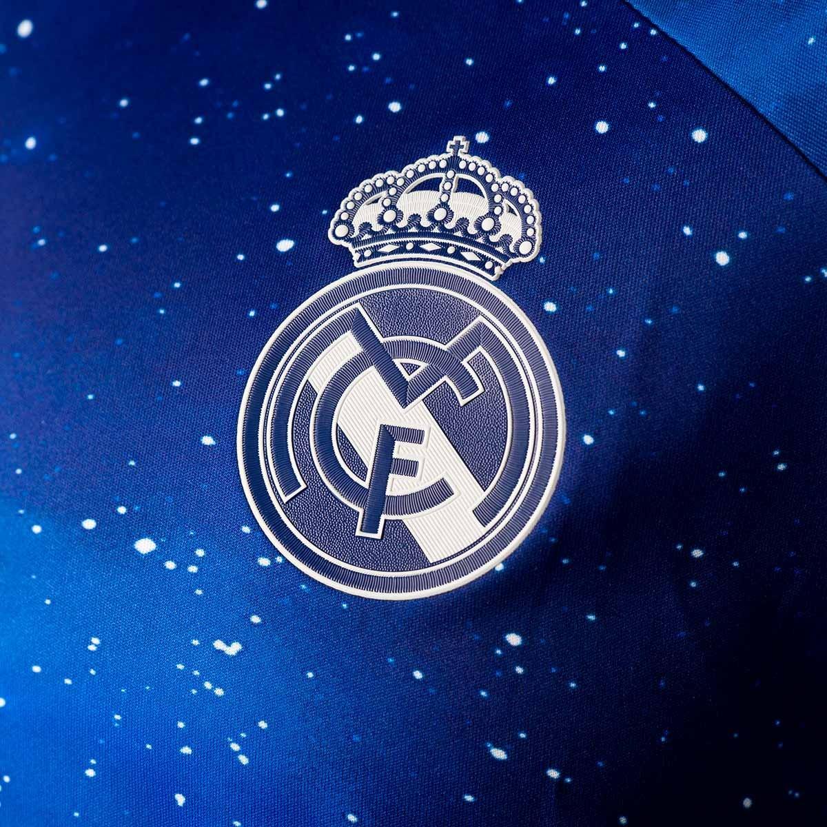 b19294ce517e3 Jersey adidas Real Madrid EA 2018-2019 Blue - Tienda de fútbol Fútbol  Emotion