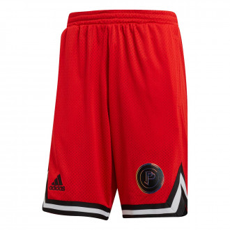 Short  adidas Paul Pogba Rev Red-Black