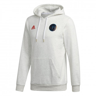 Sweat  adidas Paul Pogba White Melange
