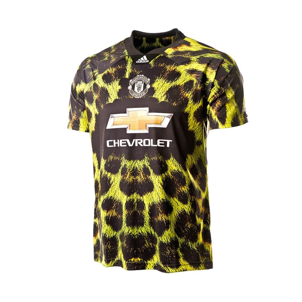 cc1c9f4c Playera adidas Manchester United FC EA 2018-2019 Amarillo-Negro - Tienda de  fútbol Fútbol Emotion
