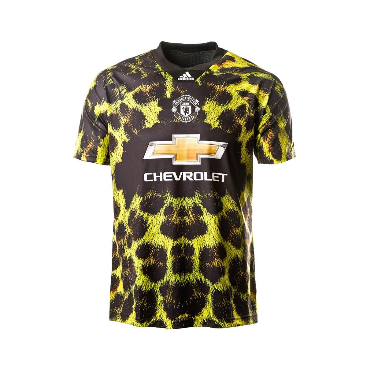 ... Camiseta Manchester United FC EA 2018-2019 Amarillo-Negro. Categorías  de la Camiseta b86d7d22209db