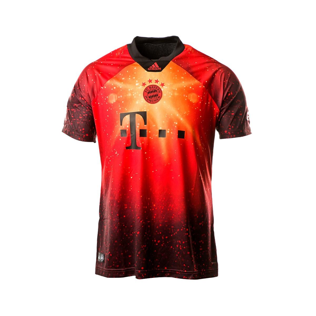 huge discount 556d9 a4e8b Camiseta FC Bayern EA 2018-2019 Multicolor-Black