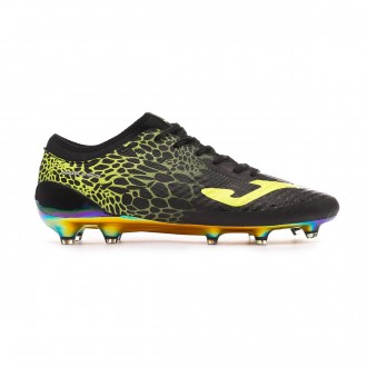 Football Boots  Joma Propulsion Lite FG Black-Lime