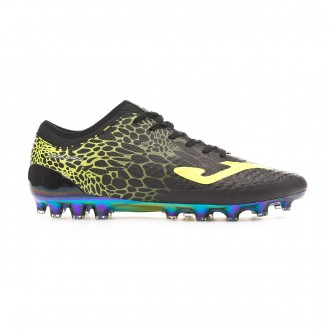 Football Boots  Joma Propulsion Lite AG Black-Lime
