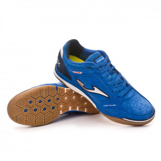 Chaussure de futsal  Joma Top Flex Nobuck Blue
