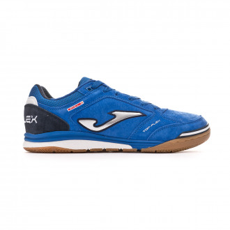 Futsal Boot  Joma Top Flex Nobuck Blue