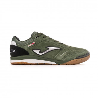 Futsal Boot  Joma Top Flex Nobuck Army
