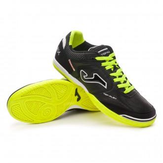 Futsal Boot  Joma Top Flex Black-Lime