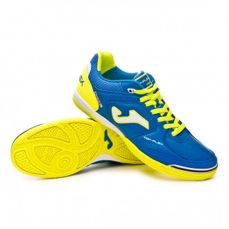 Chaussure de futsal  Joma Top Flex Blue-Lime