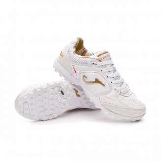 Zapatilla  Joma Top Flex Turf White-Gold
