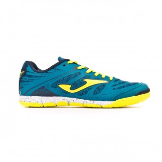 Futsal Boot  Joma Super Regate Turquoise-Lime