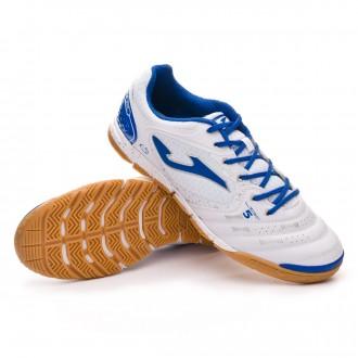 Futsal Boot  Joma Liga 5 White-Blue