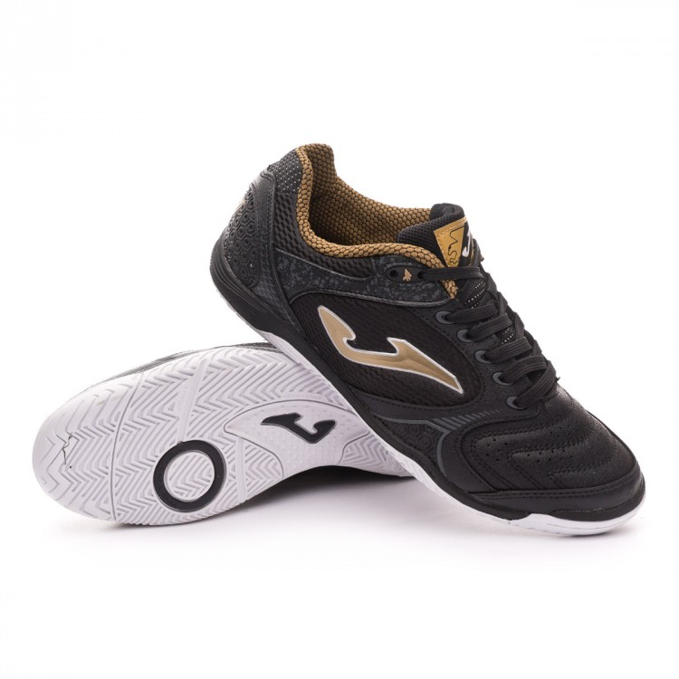 Sapatilha de Futsal Joma Dribling Black-Gold - Loja de futebol ... 3cf2dd1288204
