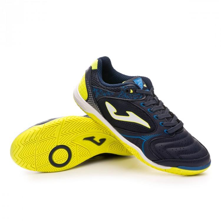 Sapatilha de Futsal Joma Dribling Navy - Loja de futebol Fútbol Emotion 343b1a36d7b83