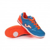 Sapatilha de Futsal Top Flex Niño Blue-Orange