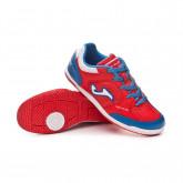 Sapatilha de Futsal Top Flex Niño Red-Turquoise