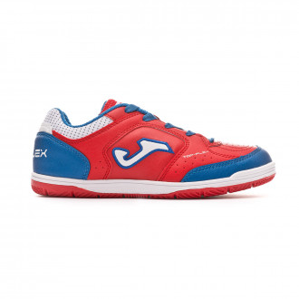 Zapatilla  Joma Top Flex Niño Red-Turquoise