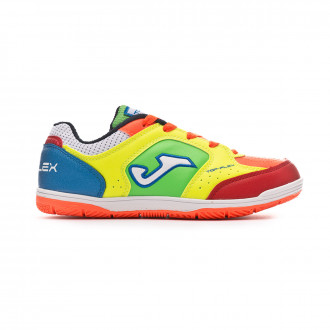 Futsal Boot  Joma Top Flex Niño Multicolor