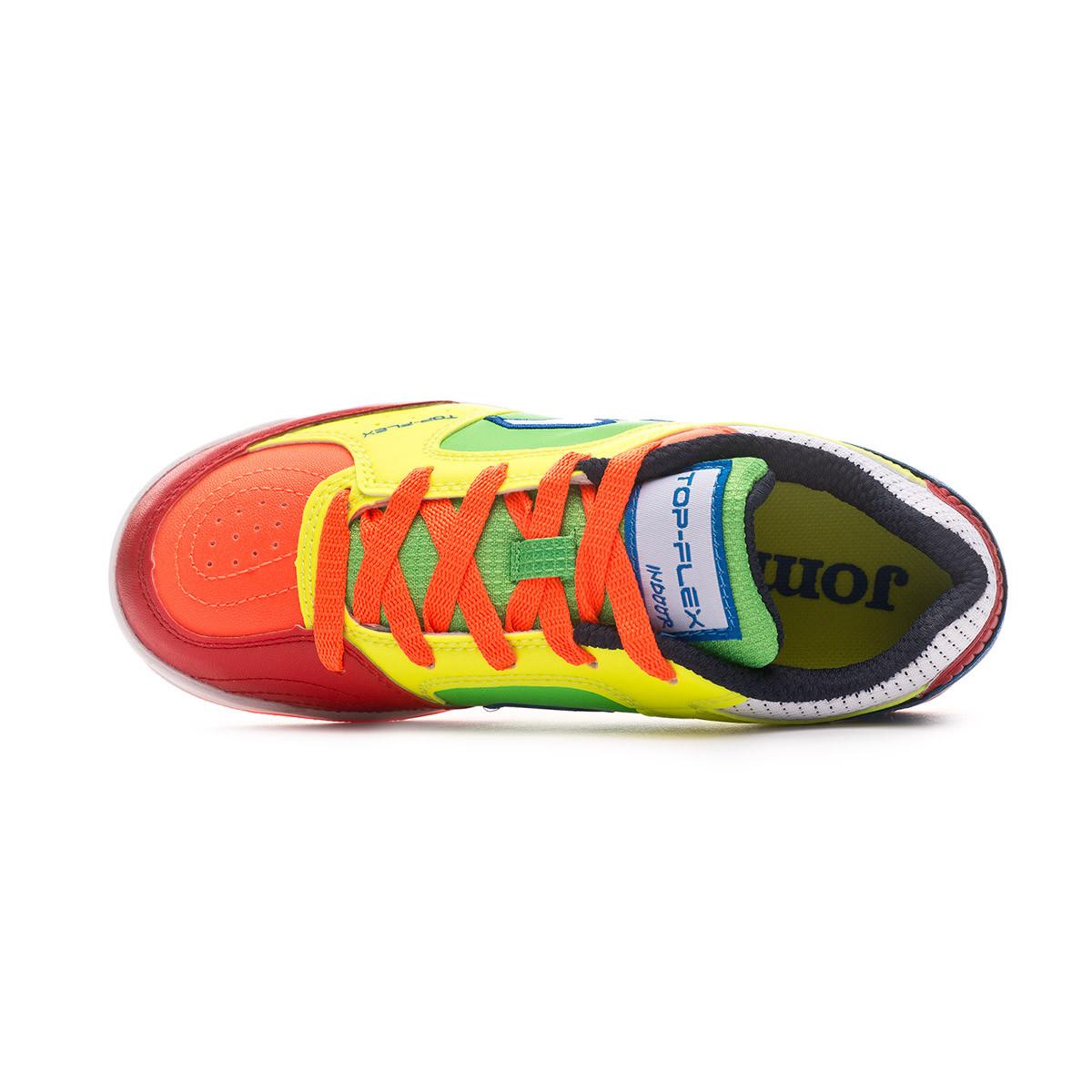 ee41a73dce7 Futsal Boot Joma Top Flex Niño Multicolor - Football store Fútbol Emotion