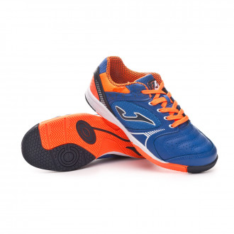 Chaussure de futsal  Joma Dribling Niño Blue-Orange