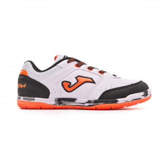 Futsal Boot  Joma Sala Max Niño White-Orange