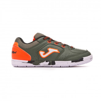 Zapatilla  Joma Sala Max Niño Army-Orange