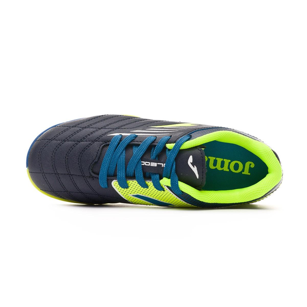 ... Zapatilla Toledo Turf Niño Navy-Lime. CATEGORY. Futsal · Futsal boots ·  Joma f4c4a2f7150a5