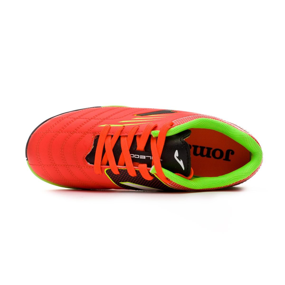 Football Boot Joma Kids Toledo Turf Orange-Lime - Leaked soccer 2677a86d4c0a6