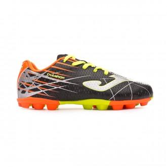Zapatos de fútbol  Joma Champion AG Niño Black