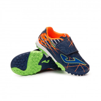 Chaussure de football  Joma Champion Niño Velcro Navy-Blue