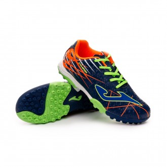 Zapatilla  Joma Champion Turf Niño Navy-Lime