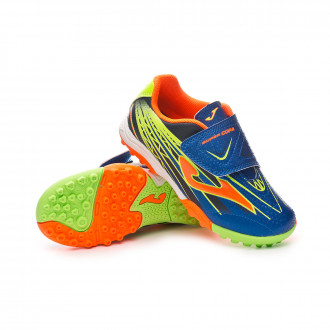 Chaussure de football  Joma Supercopa Niño Blue-Orange