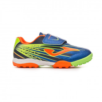 Zapatilla  Joma Supercopa Niño Blue-Orange