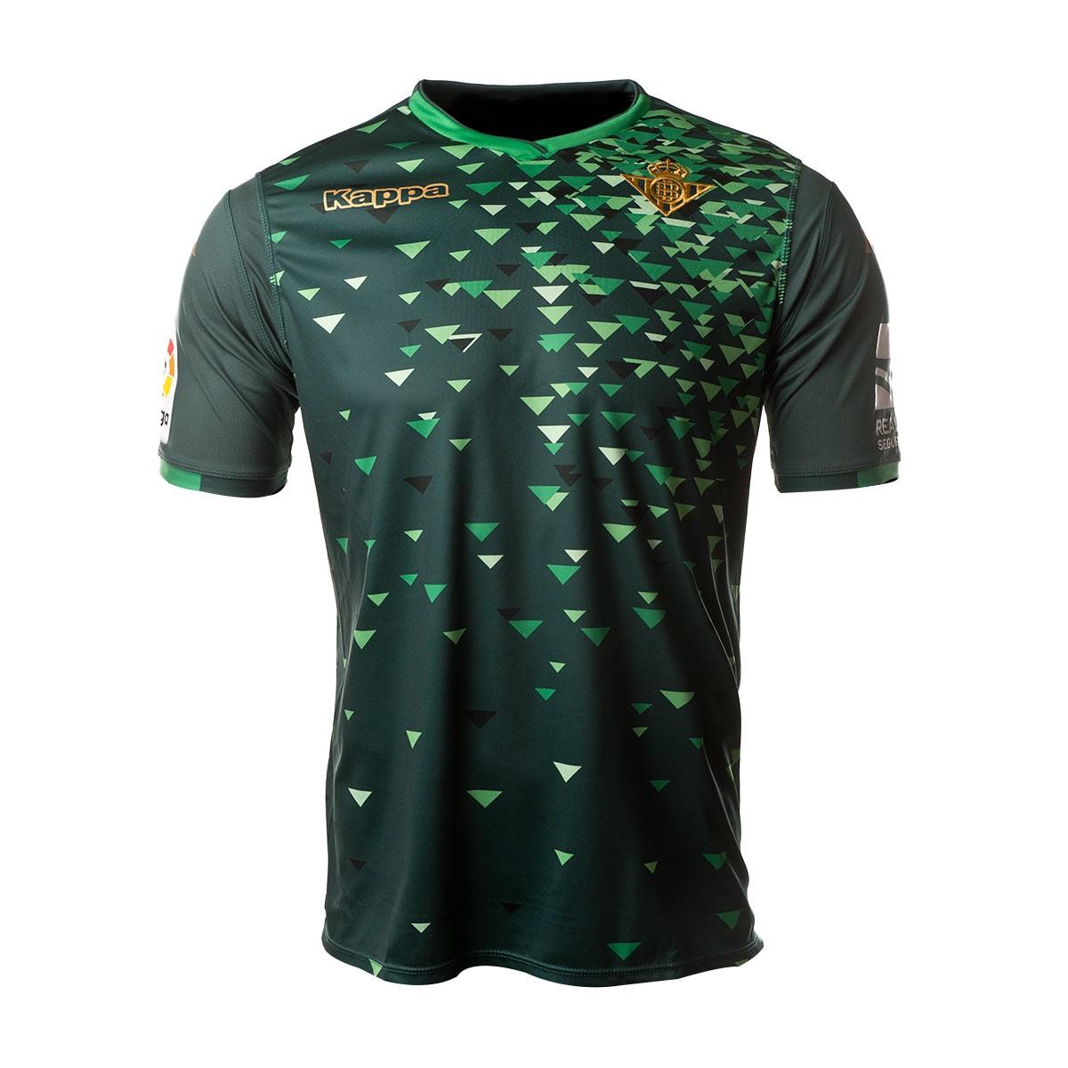 Jersey Kappa Real Betis Balompié 2018-2019 Away Dark green ... f9f114213661a