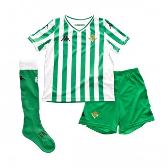 Tenue  Kappa Real Betis Balompié Domicile 2018-2019 enfant Green-White