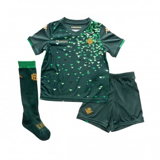Kit  Kappa Kids Real Betis Balompié 2018-2019 Away Dark green