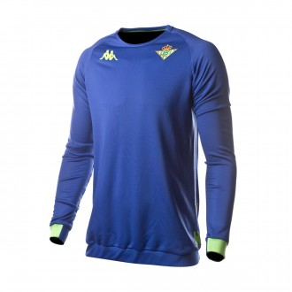 Sudadera  Kappa Real Betis Balompié 2018-2019 Blue royal-Light green