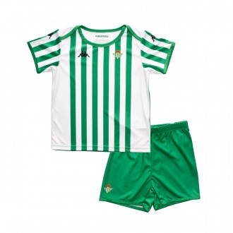 Kit  Kappa Infant Real Betis Balompié 2018-2019 Home Green-White