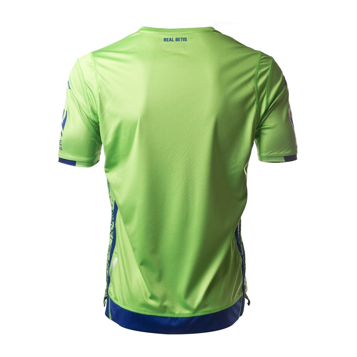 32612e4f1154b Camiseta Kappa Real Betis Balompié Tercera Equipación 2018-2019 Green flash  fantasy - Tienda de fútbol Fútbol Emotion